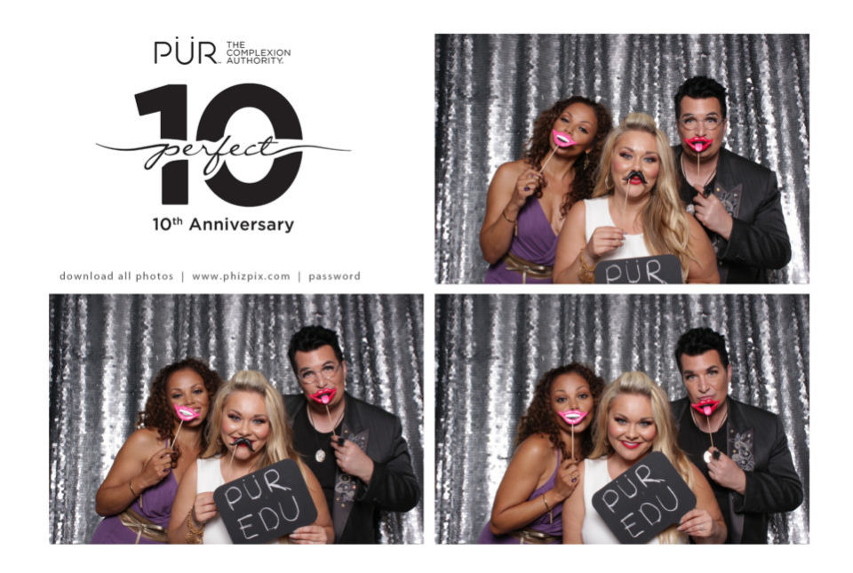 Beverly Hills Photo Booth  | PUR Cosmetics 10th Anniversary