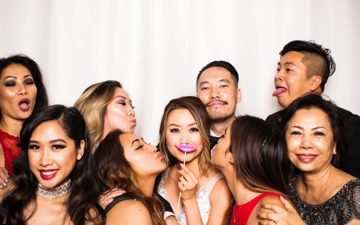 Downtown Los Angeles Photo Booth | Elizabeth + Ricky's Wedding Celebrations